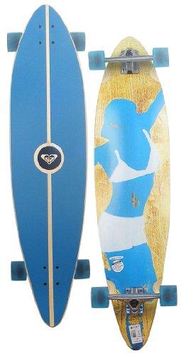 Roxy Sanfords Sled Longboard Skateboard - Blue