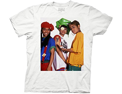 Ripple Junction TLC Ain't 2 Proud Adult T-Shirt Medium White