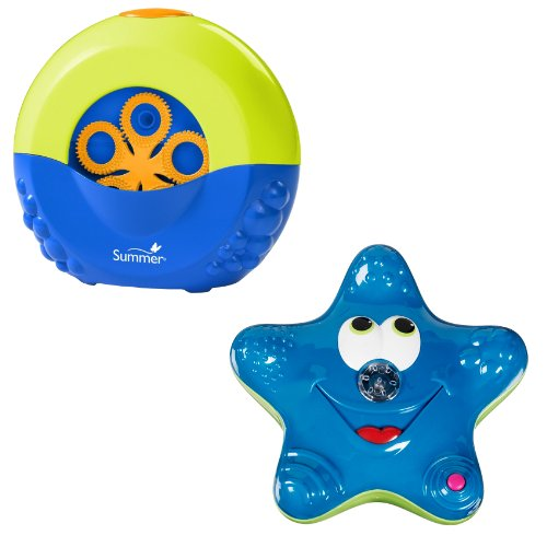 Summer Infant Tub Time Bubble Maker with Munchkin Star Fountain, Colors May Vary (Summer Bubble Maker compare prices)