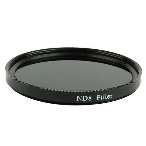 ND8 (Neutral Density) Multicoated Glass Filter (58mm) For Canon VIXIA HF G10