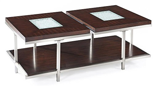 Mirrored Wood Tray front-1036392