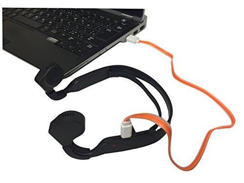 画像: Amazon.co.jp: ROOMMATE 骨伝導ヘッドフォン EB-RM6100G: 家電・カメラ