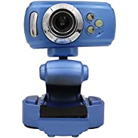 XH USB 2.0 High-definition Webcam Camera Night Vision With Mic For Laptop Computer Blue
