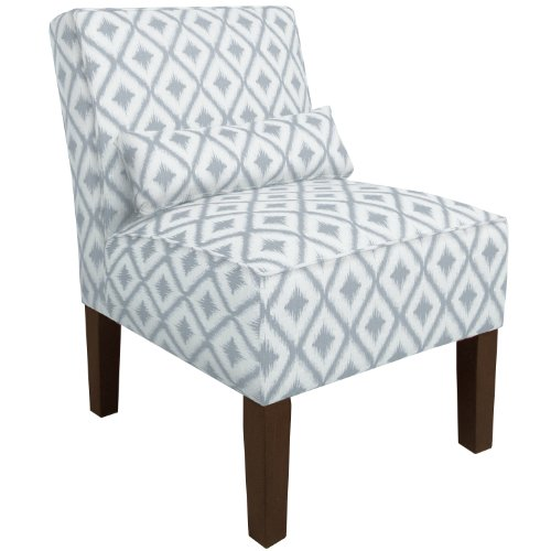 Skyline furniture for Cameron tufted chaise peacock
