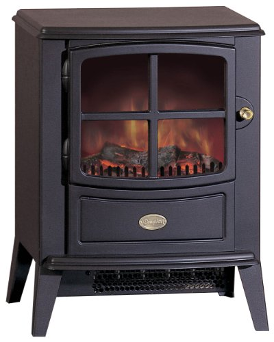 Dimplex BFD20R Brayford Traditionally Styled Optiflame Effect Electric Stove, 2 Kilowatt