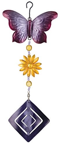 Regal Art And Gift Butterfly Twirly Garden Hanging