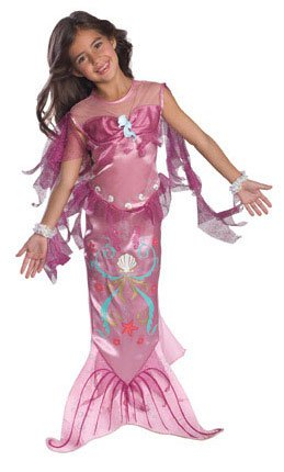 Let's Pretend Pink Mermaid Costume
