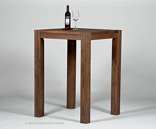 bartisch 2 barhocker hochtisch bistrotisch stehtisch rio bonito 80x80cm pinie. Black Bedroom Furniture Sets. Home Design Ideas