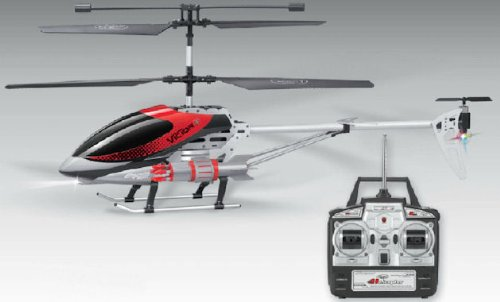 Radio Controlled Helicopter RC GYRO LED with 10 MISSILE LAUNCHER - Large size 47cm