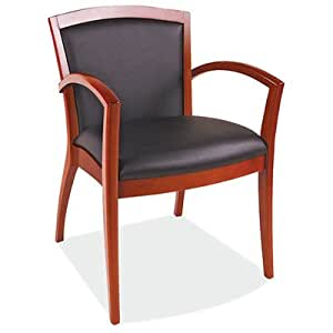 Napoli Guest Chair Seat Color Black Frame