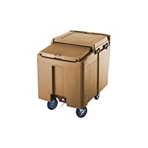 Cambro ics125l 157 sliding lid polyethylene for Coffee carts for office