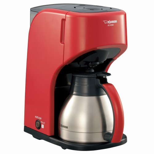 ZOJIRUSHI coffee makers [Cup approximately 1-5 World Cup] EC-KS50-RA Red