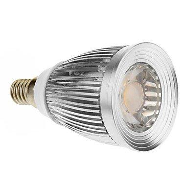 E14 7W 1Xcob 600-630Lm 3000-3500K Warm White Light Led Spot Bulb (85-265V)