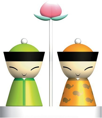 MR. & MRS. CHIN SALT AND PEPPER SET - Buy MR. & MRS. CHIN SALT AND PEPPER SET - Purchase MR. & MRS. CHIN SALT AND PEPPER SET (Alessi, Home & Garden, Categories, Kitchen & Dining, Cook's Tools & Gadgets, Tool & Gadget Sets)