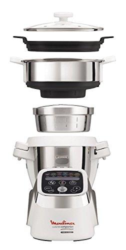 Moulinex Cuisine Companion HF802AK2 Robot Multifunzione + Vaporiera