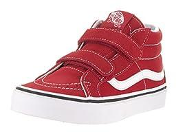 Vans Kids Sk8-Mid Reissue V Formula One/True White Skate Shoe 2.5 Kids US