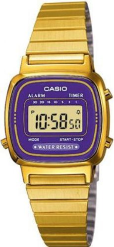 Casio Ladies Bracelet Digital Watch La670Wega-6Ef