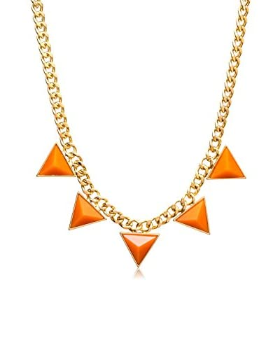 Marlyn Schiff Triangle Statement Necklace