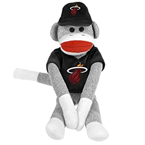 NBA Miami Heat Uniform Sock Monkey