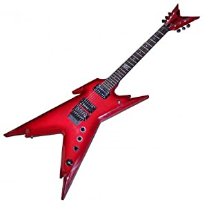 dean razorback ft beast flame maple electric guitar with