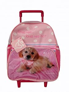 Rachael Hale Dog Love Me, Love Me Not Wheeled Bag
