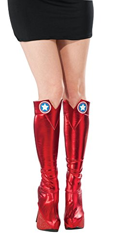 Rubie's Costume Co Women's Marvel Universe American Dream Boot Tops