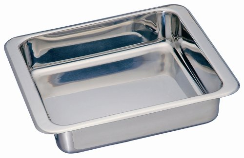 Kitchen Supply Stainless Steel Square Pan 8-inch by 8-inch ...