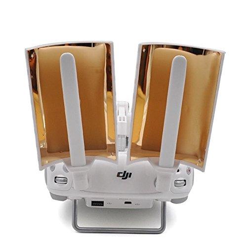FabQuality-SPEICAL-OFFER-DJI-Range-Extender-Booster-Antenna-Signal-Range-Booster-Copper-Windsurfer-for-DJI-Phantom-3-Pro-Advanced-Standard-Phantom-4-Inspire-1-Controller-Signal-Extender-White-2pcs