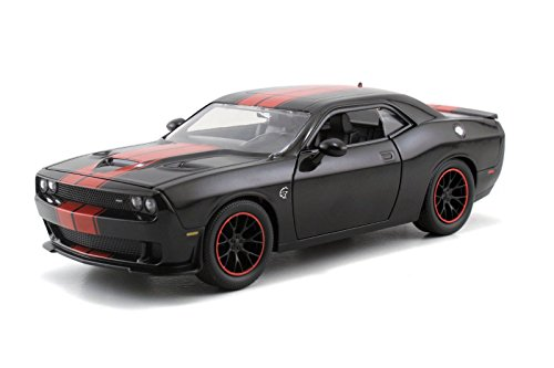 2015-dodge-challenger-srt-hellcat-black-with-red-stripes-1-24-by-jada-97855
