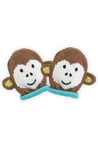 Joobles Organic Baby Mittens - Mel the Monkey