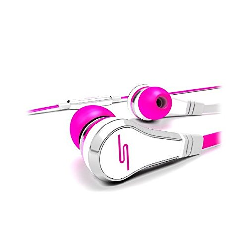 Sms Audio Sms-Eb-Pnk Street By 50 Cent Wired In-Ear Headphones - Pink