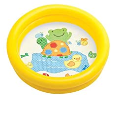 Intex My First Pool Inflatable Baby Water Pool Tub with Colorful Cartoon