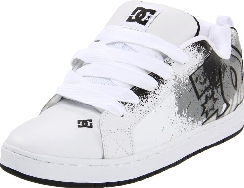 Dc Shoes Men's Court Graffik Se Mens Shoe Trainers D0300927 White/Wild Dove Wwv 6 UK