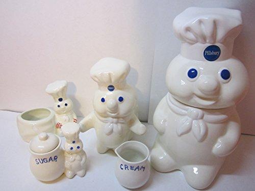 Pillsbury doughboy set (Pillsbury Doughboy Cookie Jar compare prices)