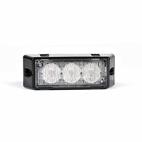 Chirper Tir 3 Led Emergency Vehicle Grill Warning Light Head (Amber)