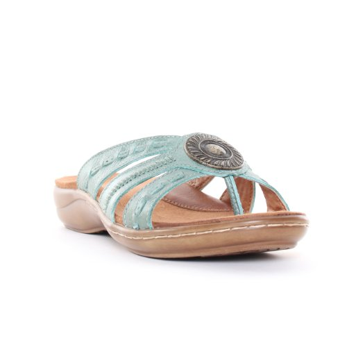 Bare Traps Women'S Keefer Thong Sandals In Mint Size 7.5