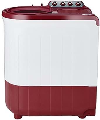 Whirlpool 7.5 kg Semi-Automatic Top Loading Washing Machine (Ace 7.5 Super Soak, Coral Red)