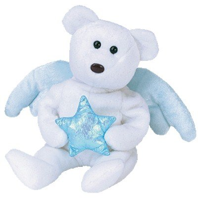 Ty Beanie Babies Star - Angel Bear Blue (Ideation Exclusive)