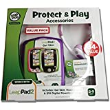 Leap Frog LeapPad Plug & Play Accessories Exclusive Purple Gel Skin, Headphones And Digital Download