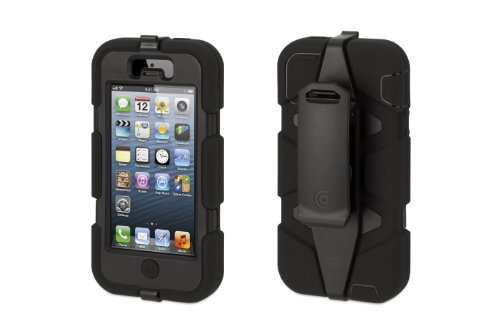 Griffin Survivor Case For iPhone 5 - Black