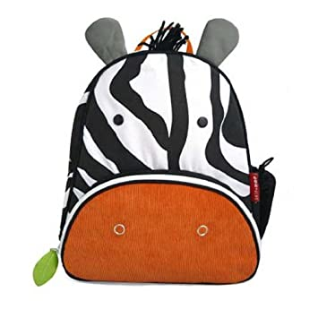 Skip Hop Zoo Backpack and Lunchie- Zebra