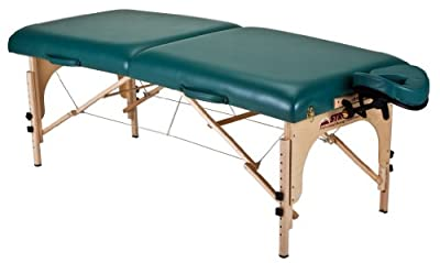 Stronglite Stronglite Classic Deluxe Portable Massage Table Package, Teal
