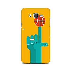 Mobicture Basketball Love Premium Printed Case For Samsung J2