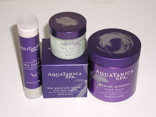 Think Aquatanica sea moisture facial has