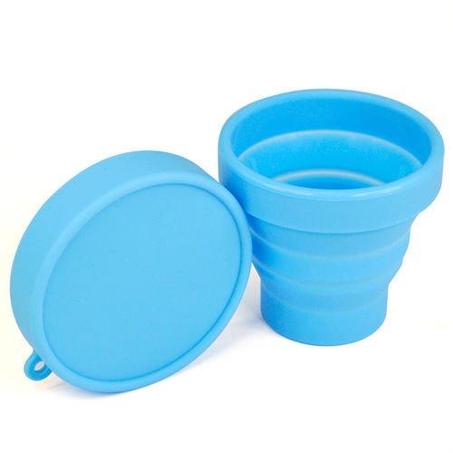 sonline-vaso-plegable-ahorro-de-espaciopara-viaje-campamento-azul