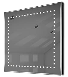 Auto Colour Change Rgb Ultra-Slim Bathroom Mirror With Demister & Sensor K9Rgb