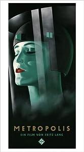 Metropolis Serigrafie by Werner Graul, 56x100    Kundenbewertung und Beschreibung