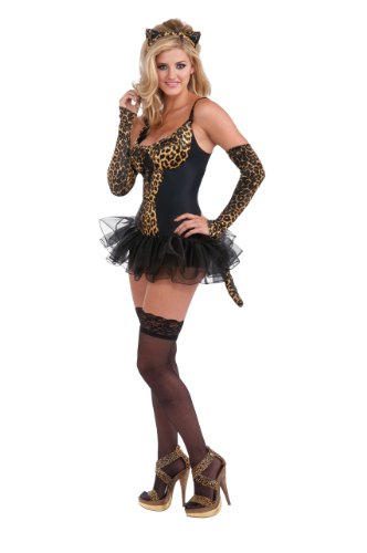 Rubie's Costume Women's Adult Leopard Kitty Costume