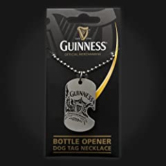 Guinness Wings Dog Tag Pewter