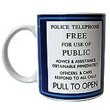 Tardis Police Sign 11oz Mug